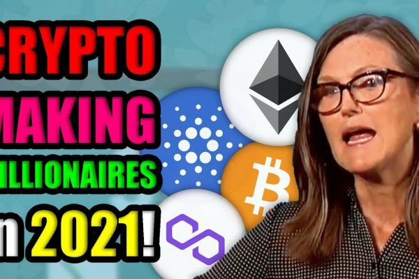 Become a Cryptocurrency Millionaire by 2025 | Cathie Wood Calls for 500k Bitcoin in 5 Years